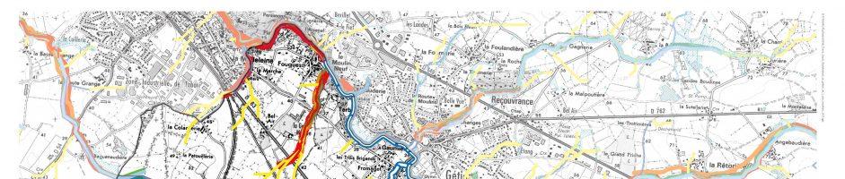 Cartographie des cours d'eau
